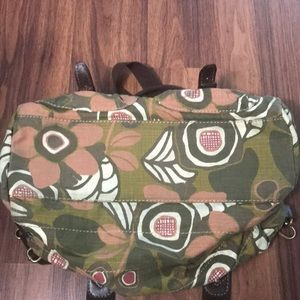 Fossil Bags - Fossil vintage canvas crossbody bag purse